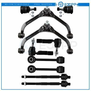 10pcs New Complete Front Suspension Kit Fits 2006 2007 Jeep Liberty Tie Rod Ends