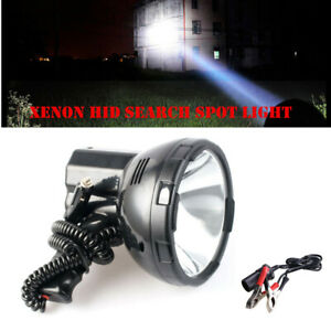 35w Hand held Xenon Hid Search Spot Light Fishing Boat Marine Camping W adapter