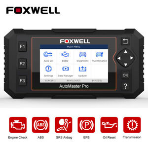 Four Systems Automotive Obdii Code Reader Abs Srs Oil Epb Diagnostic Scan Tools