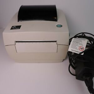 Zebra Lp 2844 Direct Thermal Barcode Label Printer Usb Network Serial Working