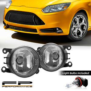 For 08 14 Ford Focus 4f9z 15200 Aa Aftermarket Replacement Fog Lights Assembly