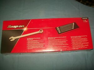 New Snap On 1 Thru 1 5 16 12 Point Flank Drive Plus Wrench Set Soex02fmbr