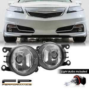 For 12 14 Acura Tl 33900 T0a A01 Aftermarket Replacement Fog Lights Assembly L R