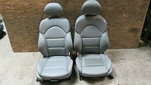2001 2006 Bmw E46 M3 M Coupe Front Seat Pair In Gray Nappa Leather Oem A 11512