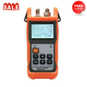 Optical Time Domain Reflectometer Mini Otdr Built in Vfl For Sm Fiber Cy 190s