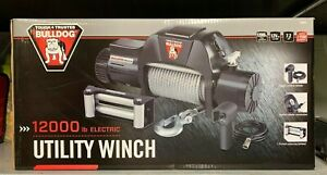 Bulldog 500601 12000lb Utility Winch 7 2hp New In The Box Free Shipping