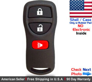 1 New Replacement Keyless Entry Remote Key Fob Case Shell For Nissan Kbrastu15