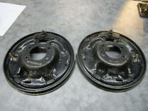 1967 1968 Ford Galaxie And Mercury Rear Axle Brake Backing Plate Nos