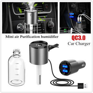 5v Qc3 0 Fast Car Charge Mini Air Purification Humidifier Spray Anti Dry Burning