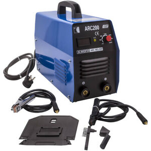 Portable Arc 200 Amp arc mma Dc Igbt Inverter Welder Dual Voltage Welding 220v