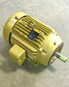 Baldor Cem4106t Super e Motor 256tc Frame 20hp 3520rpm 208 460 Volt Reliance