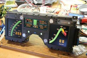 1984 Corvette Cluster Rebuilt All Brand New Lcd S Core Required