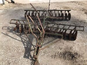 John Deere Pony Tractor Disc Harrow Antique