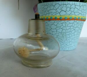 Antique Glass Alcohol Burner Oil Lamp Apothecary Chemistry Lantern