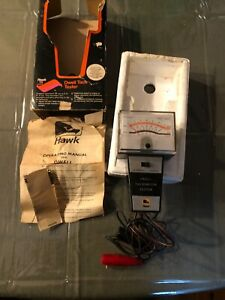 Hawk Dwell Tach Tester Box And Instructions Works Like New Tachometer