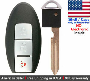 1 New Replacement Keyless Entry Key Fob For Nissan Smart Cwtwb1u815 Shell Only