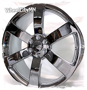20 Inch Chrome Chevy Trailblazer Ss Oe Replica Wheels Gmc Envoy 6x127 45 6x5