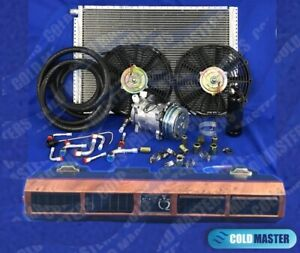 A C Kit Universal Underdash Evaporator Air Conditioner 223 W 12v Elec Harness