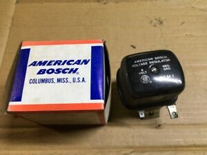 Used American Bosch Voltage Regulator 6 Volt Bgt6a2