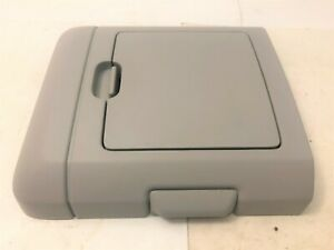 04 08 Ford F150 Ceiling Overhead Console Storage Compartment Gray