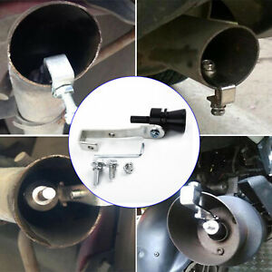 Alloy Turbo Sound Exhaust Muffler Resistance Pipe Whistle Universal Simulators