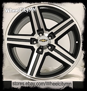 20 X9 Gloss Black Chevy Camaro Iroc Z28 Oe Replica Wheels El Camino Ss 5x4 75