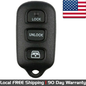 1x New Replacement Keyless Entry Remote Control Key Fob For Toyota Hyq12ban