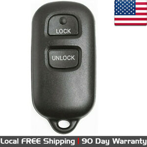 1x New Replacement Keyless Entry Remote Control Key Fob For Toyota Gq43vt14t