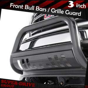 For 2005 2007 Ford Super Duty F 250 F 350 Bull Bar Black Bumper Grille Guard