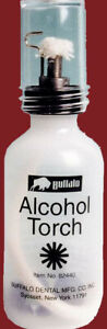 Buffalo Dental Alcohol Torch 82440 Needle Point Flame For Lab Jewelry Hobby