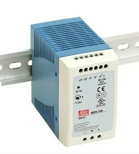 Mean Well Mdr 100 12 Ac To Dc Industrial Din rail Power Supply 12 Volt 7 5 Amp