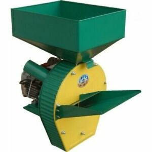 Feed Mill Grinder Corn Grain Oats Wheat Freshly Cut Grass Crusher 2500w 220v