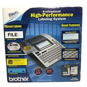 Brother P touch Pt 2700 High performance Labeling System W Various Extra Tapes