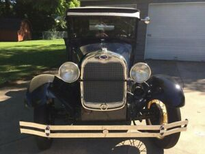 1929 Ford Model A Coupe Restored