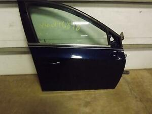 11 12 Chevy Cruze Right Front Door Express Down Imperial Blue Metallic Oem