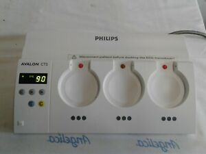 Philips Avalon Cts Fetal Monitor Base Station M2720a