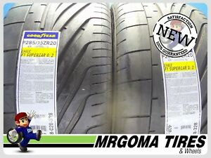 2 New 285 35 20 Goodyear Eagle F1 Supercar G2 Tires Mercedes S class 92y 2853520
