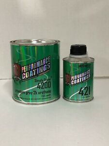 Automotive High Build 2k Urethane Primer Gray Quart Kit