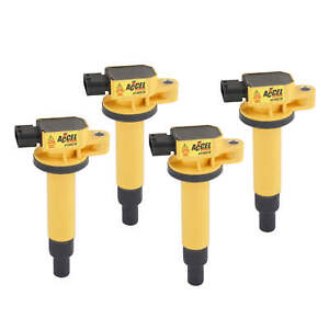 Accel 140078 4 Accel Ignition Coil Supercoil Scion 1 5l I4 4 pack