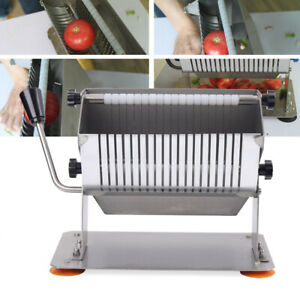 Stainless Steel Potato Fruit Apple Vegetable Cutter Slicer Commercial Quality