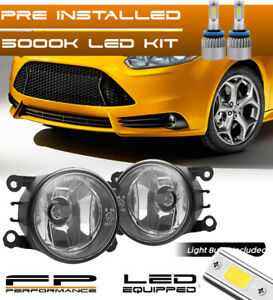 For 08 14 Ford Focus 4f9z 15200 Aa Direct Replacement Fog Lights Assembly Led