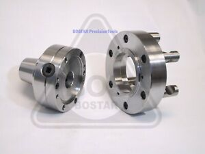 Bostar 5c Collet Lathe Chuck With Semi finished D1 6 Back Plate