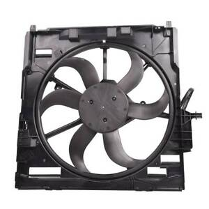 For Bmw X5 E70 2007 2010 Radiator Electric Cooling Fan Assembly 17427537357