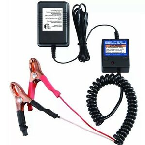 Automatic 12v Battery Float Charger Car Motorcycle Atv Bike Free Fast Shipping