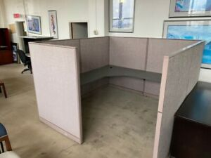 8 x8 x64 h Cubicle Partition System By Steelcase Office Furniture