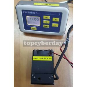 10mw 100w Optical Power Meter Laser Power Tester High Accuracy probe 9v Power