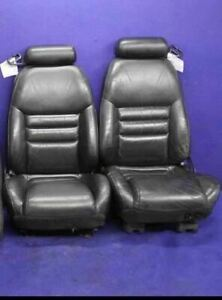 1994 1995 1996 1997 1998 Ford Mustang Gt Cobra Black Leather Convertible Seats