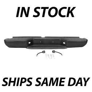 New Primered Steel Rear Step Bumper Assembly For 2005 2019 Nissan Frontier 05 19