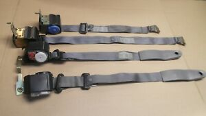 1993 Mustang Cobra Oem Opal Grey Interior Seat Belts Retractors Front Back