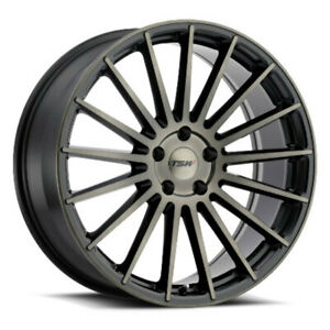 Tsw Luco Rims Truck Sub Wheels Matte Black Machine Dark Tint 19x8 5 5x120 Qty4